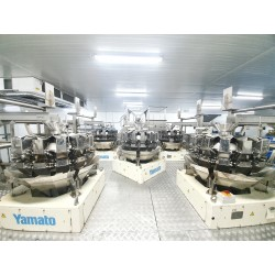 5 x Yamato Multihead Weigher for sale Head Combination Scale