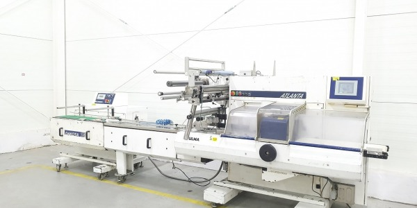 Ulma Atlanta flow pack wrapping machine for fruit and vegetable