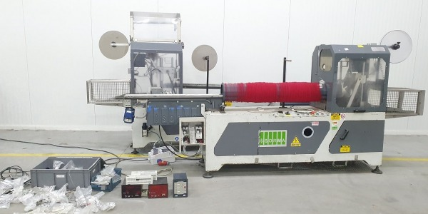 SORMA punnet clipper, packaging machine packing machine + parts